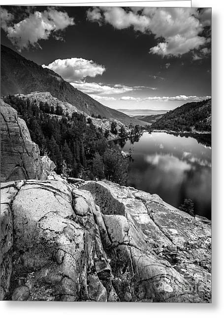Above Cooney Lake Greeting Card by Alexander Kunz