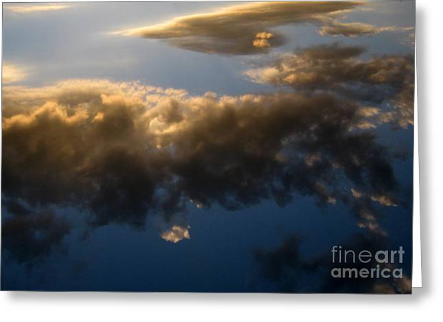 Greeting Card featuring the photograph Above The Clouds by Janice Westerberg