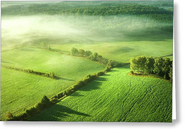 Above The Mist Greeting Card