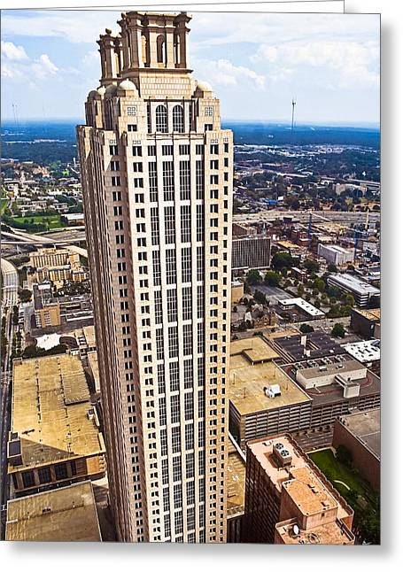 Above The Rest - Atlanta 191 Peachtree Greeting Card