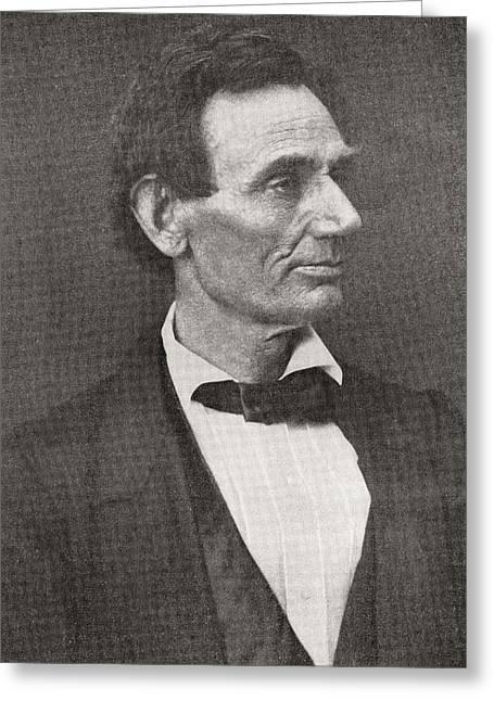 Abraham Lincoln, 1860 Greeting Card