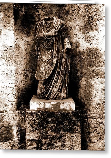 Abruzzo, Laquila, Castiglione A Casauria Greeting Card by Litz Collection