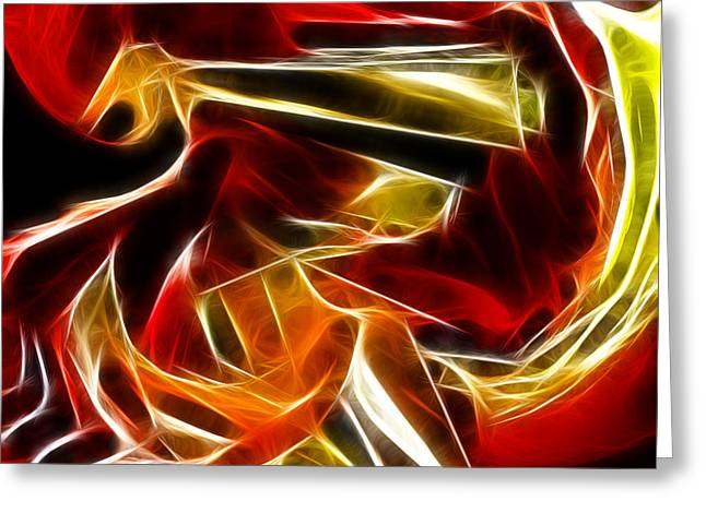 Abstract 006 Greeting Card