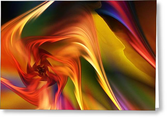 Abstract 031814 Greeting Card