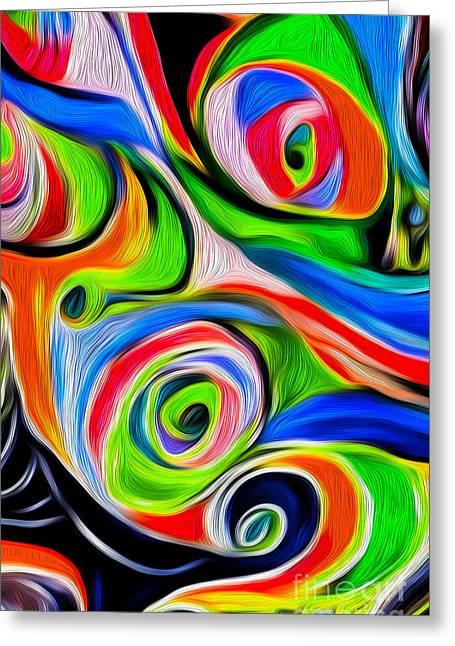 Abstract 04 Greeting Card