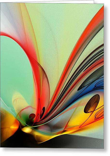 Abstract 040713 Greeting Card