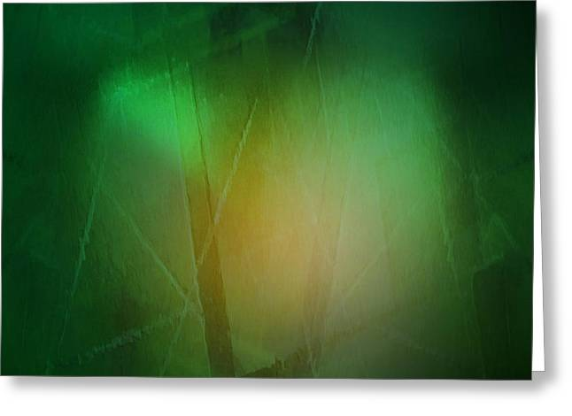Abstract 1005 Greeting Card by John Krakora
