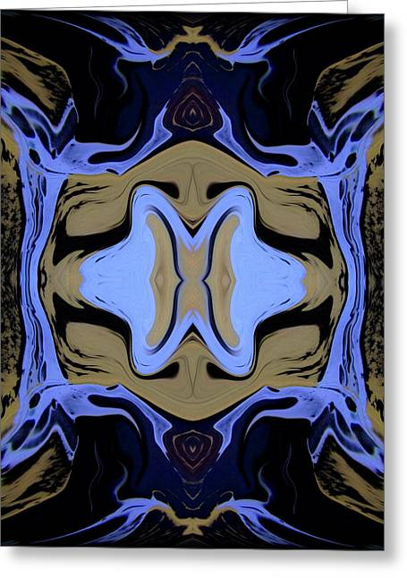 Abstract 161 Greeting Card by J D Owen