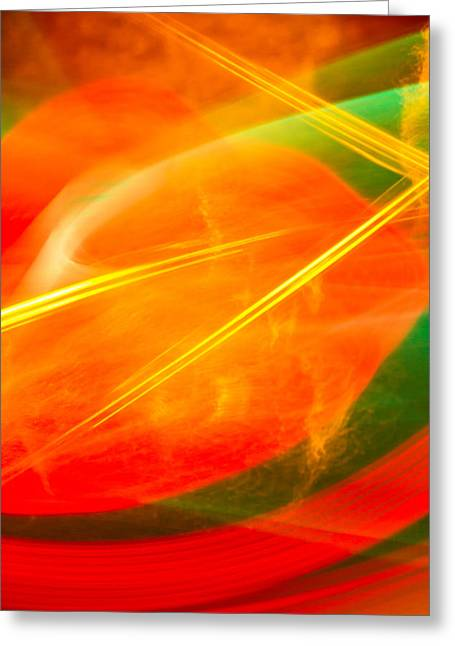 Abstract 17 Greeting Card