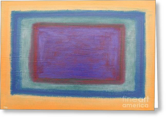 Abstract 186 Greeting Card by Patrick J Murphy