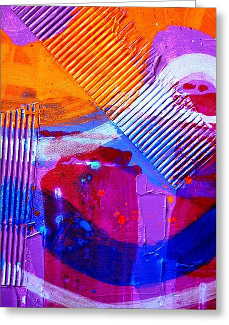 Abstract  19614 Cropped IIi Greeting Card