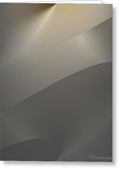 Abstract 2-0-13-s Greeting Card by Ines Garay-Colomba