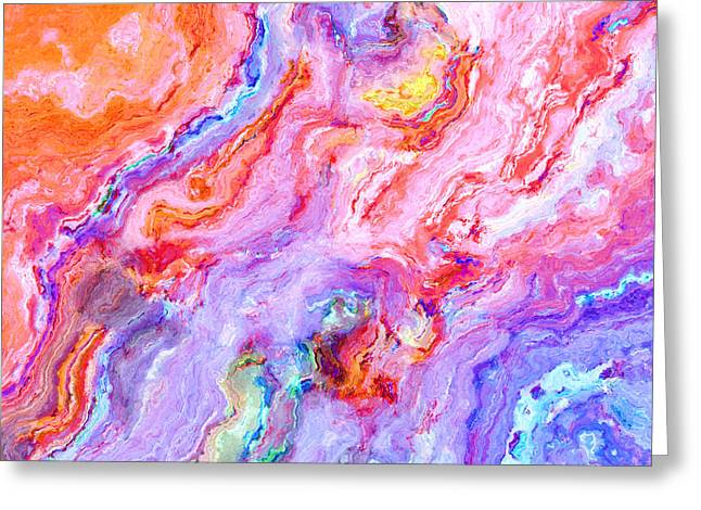 Abstract 20 Greeting Card by Craig Gordon