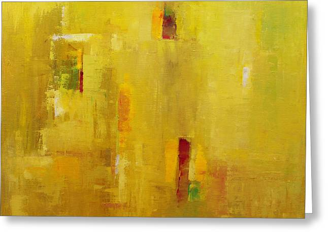 Abstract 2015 01 Greeting Card by Becky Kim
