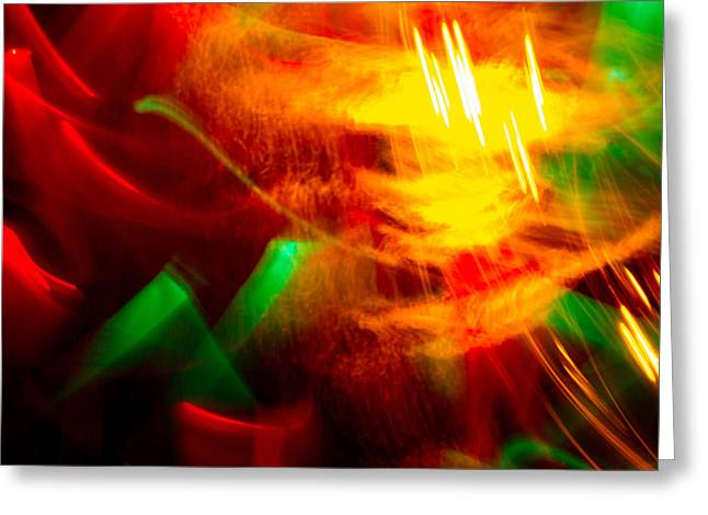 Abstract 21 Greeting Card