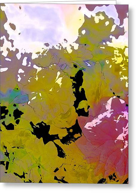 Abstract 288 Greeting Card by Pamela Cooper