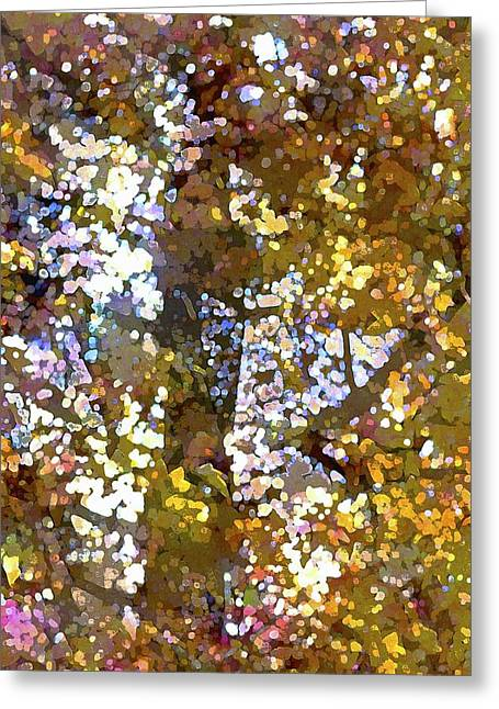 Abstract 293 Greeting Card by Pamela Cooper