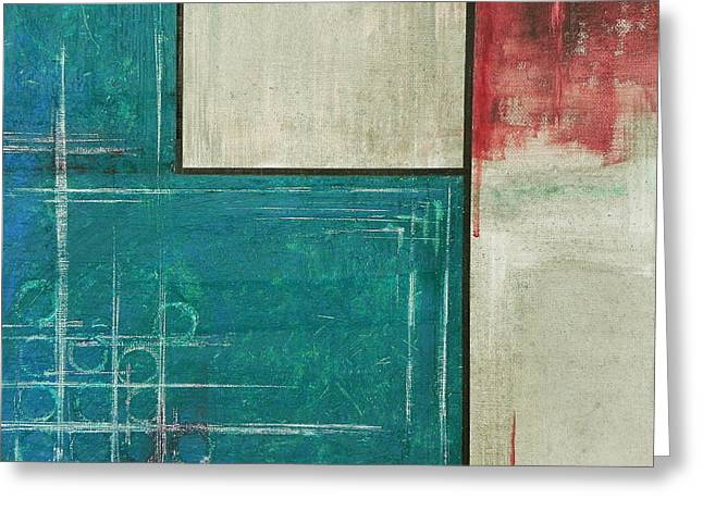 Abstract 3 Greeting Card by Andres Carbo
