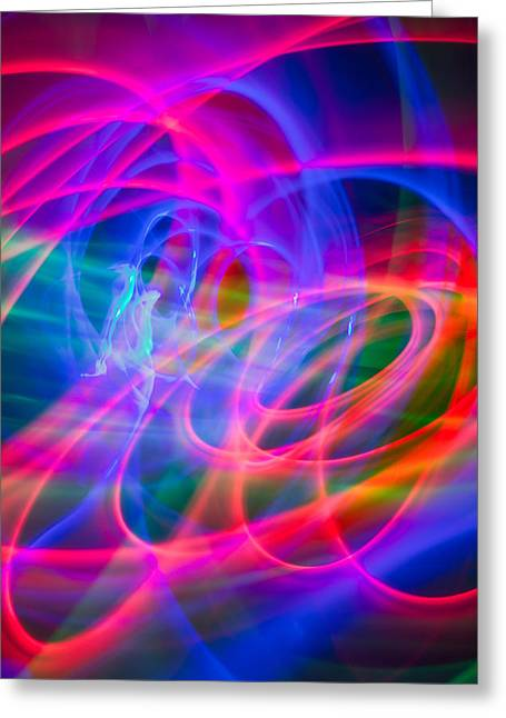 Abstract 33 Greeting Card