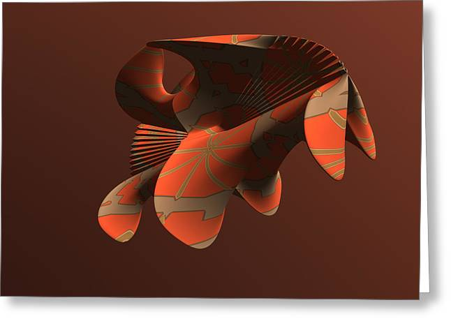 Abstract 351 Greeting Card