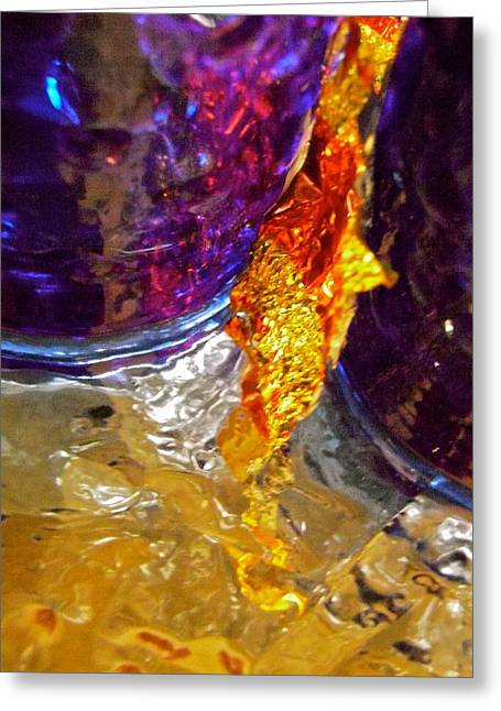 Abstract 3653 Greeting Card by Stephanie Moore