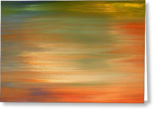 Abstract 424 Greeting Card by Patrick J Murphy