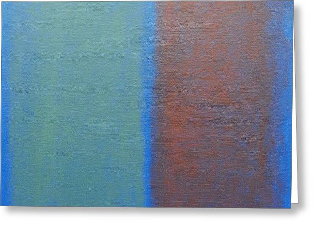 Abstract 45 Greeting Card by Patrick J Murphy
