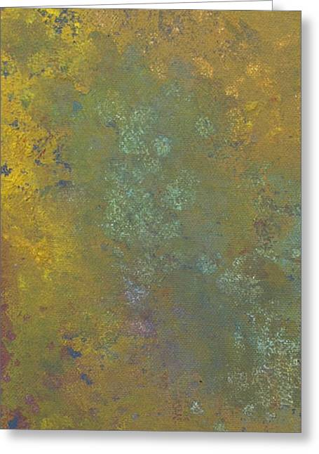 Abstract 5 Greeting Card by Corina Bishop