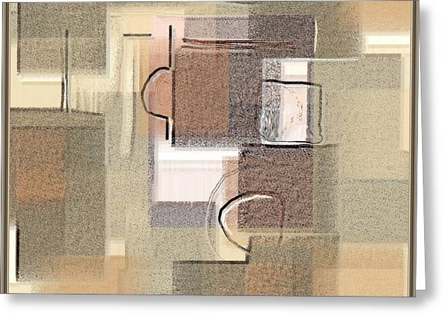 Abstract 949 Greeting Card by Nedunseralathan R