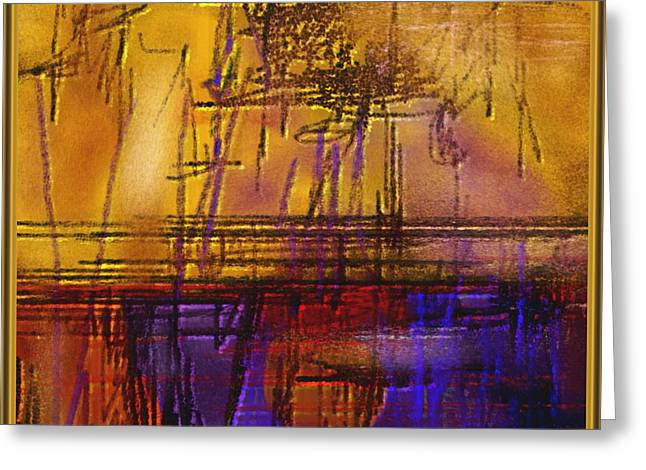 Abstract 970 Greeting Card by Nedunseralathan R