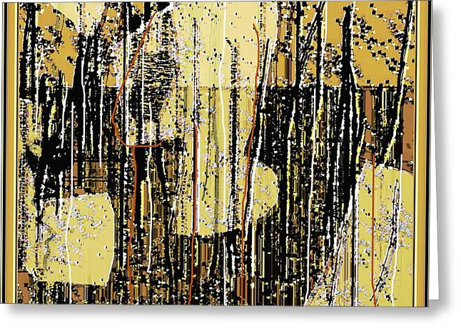 Abstract 971 Greeting Card by Nedunseralathan R