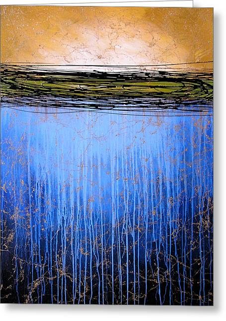 Abstract Art ... It Only Matters #3 Greeting Card by Amy Giacomelli