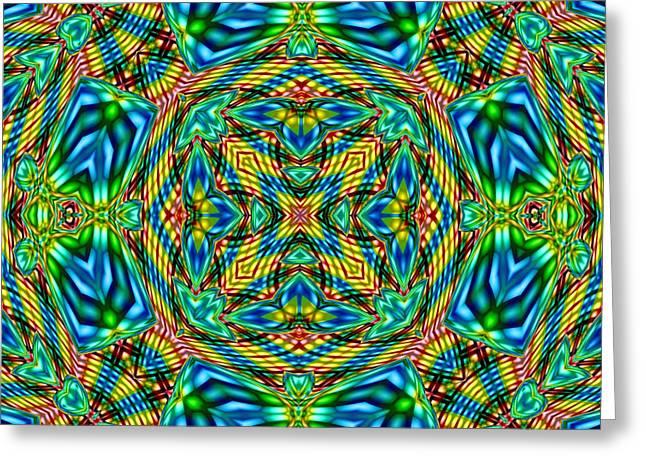 Abstract B33 Greeting Card