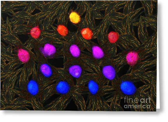 Abstract Balls Greeting Card by Pixel Chimp