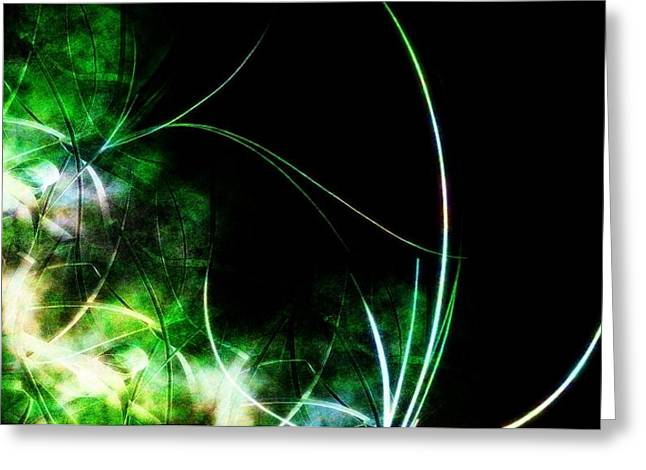 Abstract Greeting Card by Cameron Rose