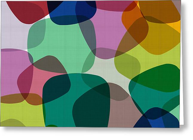 Abstract Colorful Background. Vector Greeting Card