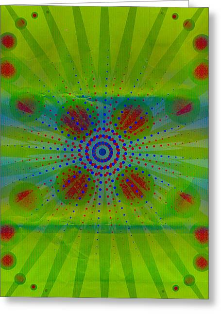 Abstract Creation Series 1 Greeting Card by Teri Schuster