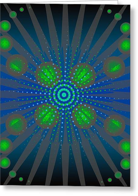 Abstract Creation Series 10 Greeting Card by Teri Schuster