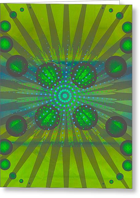 Abstract Creation Series 3 Greeting Card by Teri Schuster