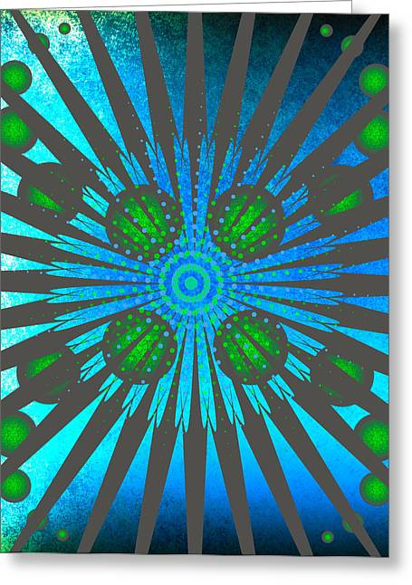 Abstract Creation Series 7 Greeting Card by Teri Schuster