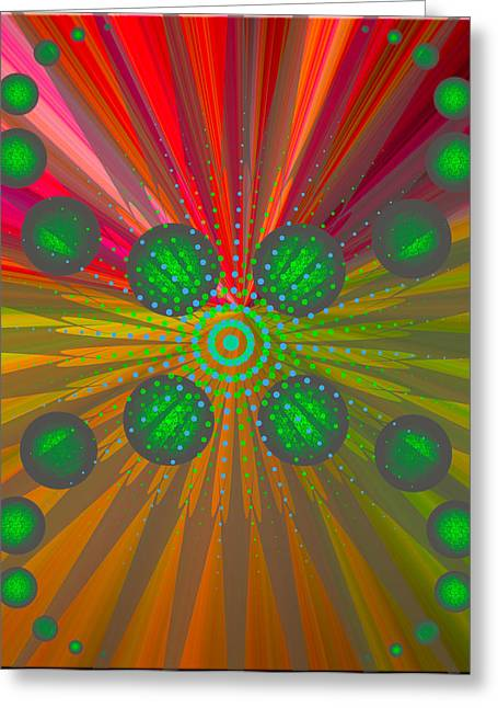 Abstract Creation Series 8 Greeting Card by Teri Schuster