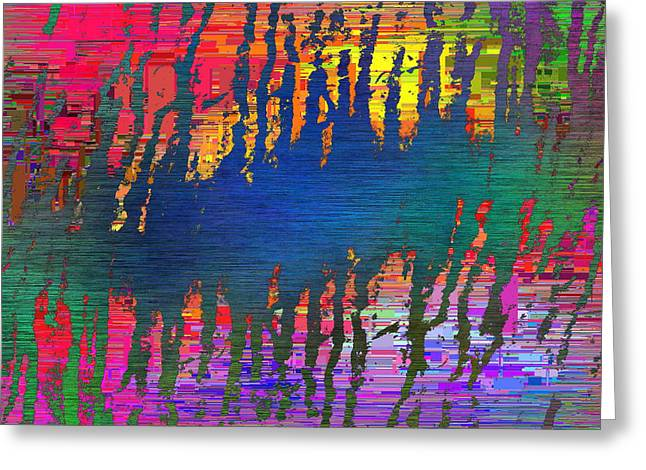 Abstract Cubed 31 Greeting Card