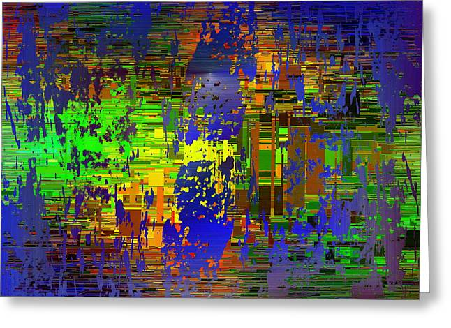 Abstract Cubed 58 Greeting Card