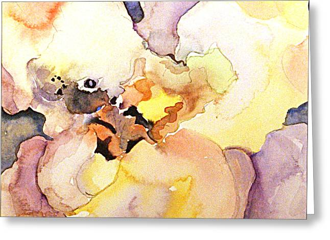 Abstract Flower 8 Greeting Card by Gwen Nichols