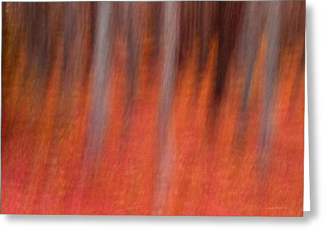 Abstract Forest 1 Greeting Card