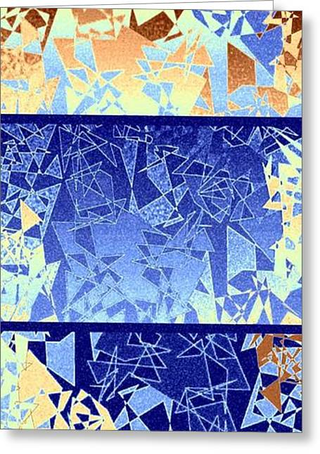 Abstract Fusion 194 Greeting Card by Will Borden