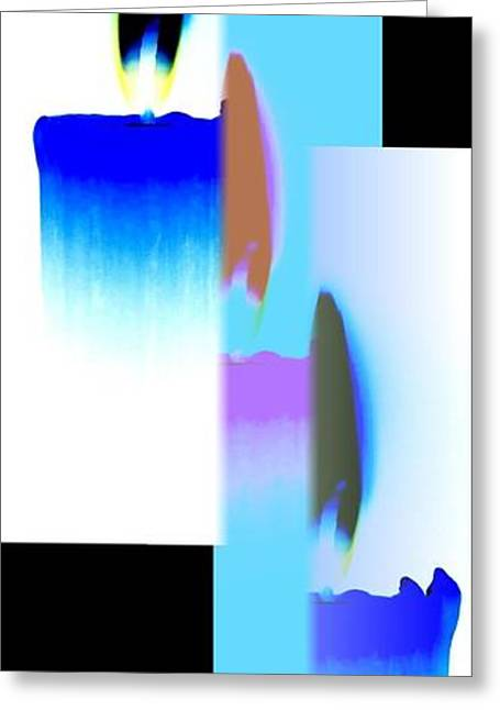 Abstract Fusion 220 Greeting Card by Will Borden