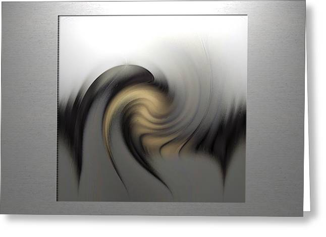 Abstract G-b-g Greeting Card by Ines Garay-Colomba