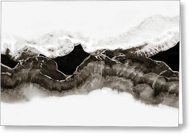 Abstract Ice 1 Greeting Card