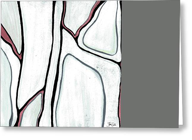 Abstract II Greeting Card by Shanni Welsh